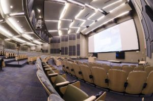 workshops and training in the NEW Center auditorium