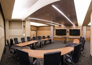 executive board room for business seminars