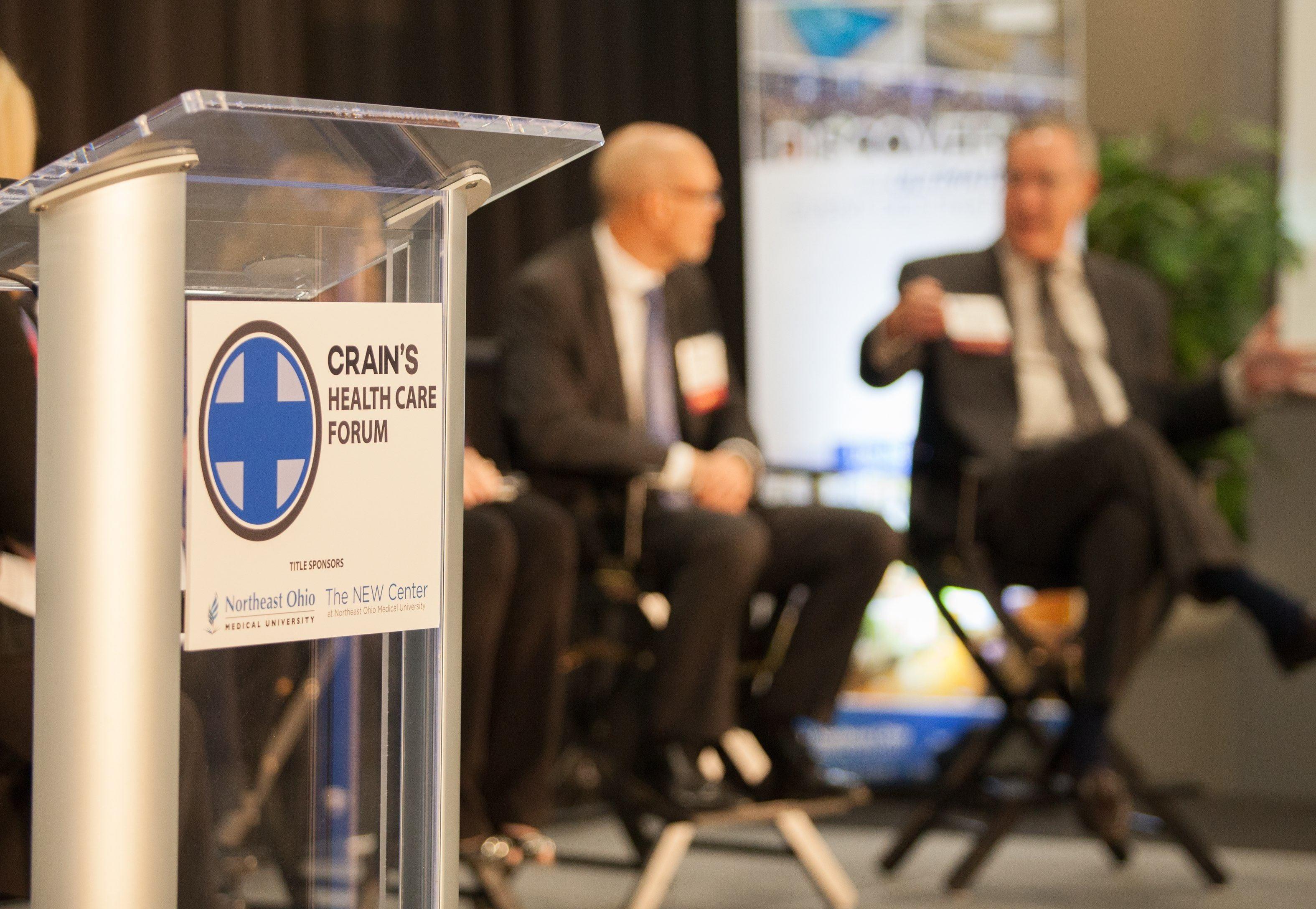 Crain's Health Forum at NEOMED 9-28-16