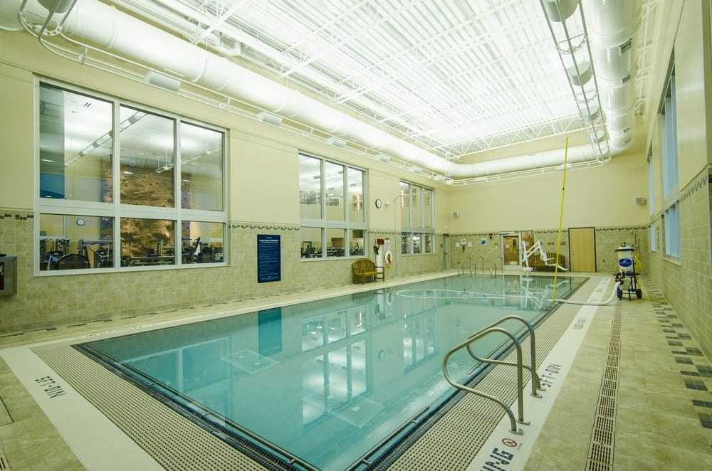 fitness center pool