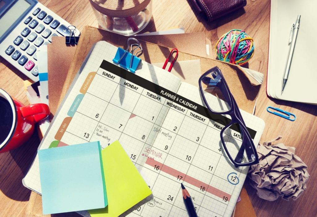 Event planning materials