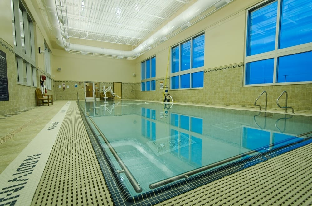 pool at fitness center