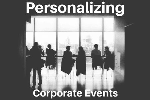 personalizing corporate events