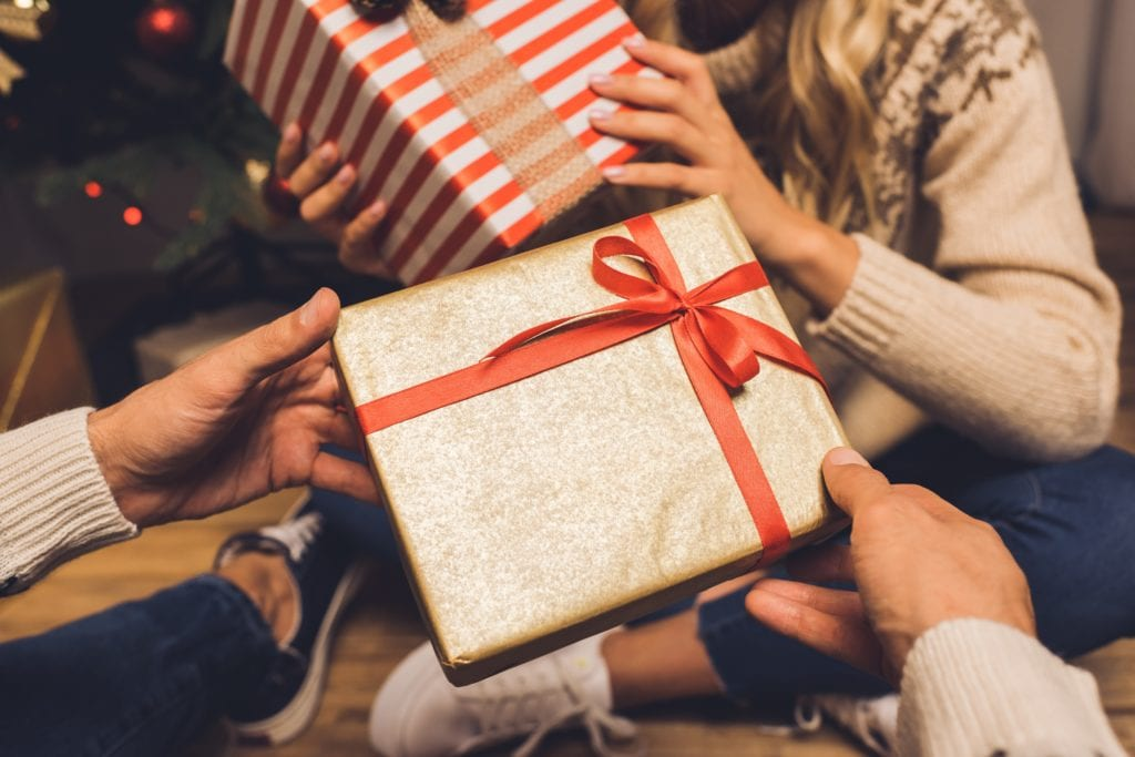 Holiday party gift exchange