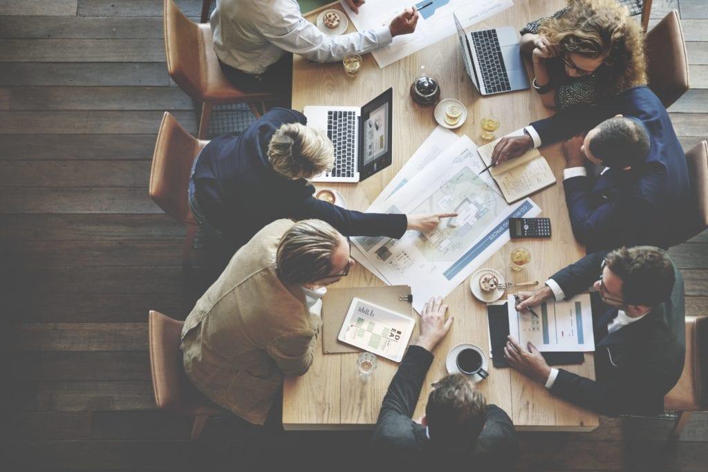 corporate planning meeting