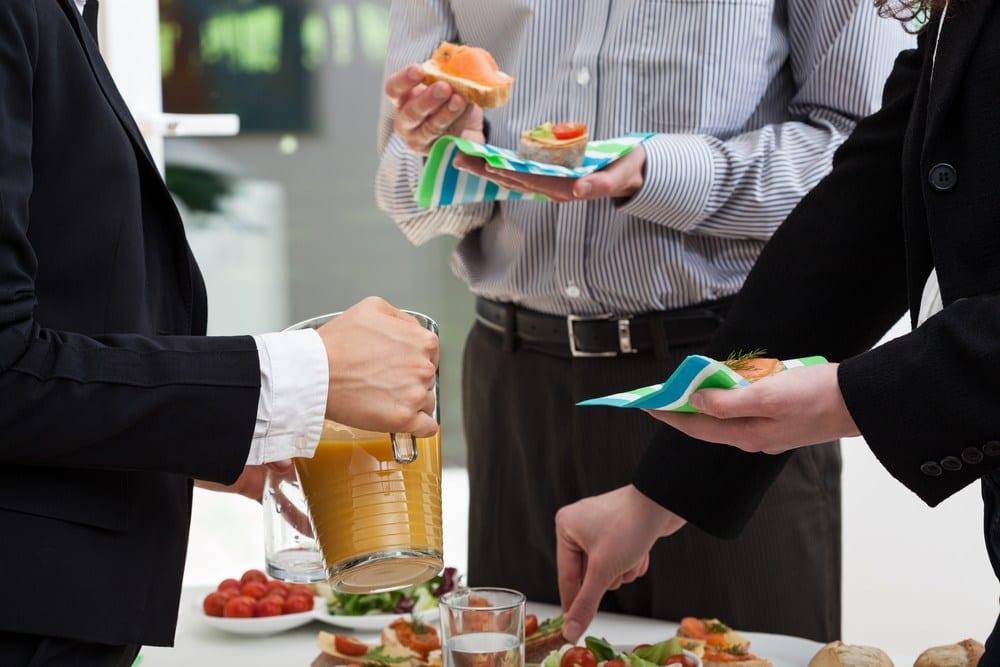 Corporate meeting refreshments