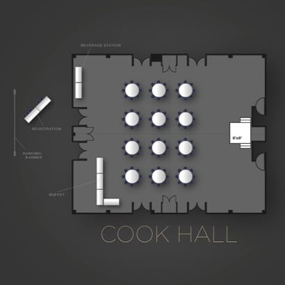 Cook Hall Floor Plan